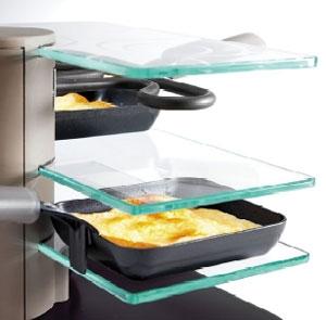 appareil raclette transparence 2 personnes machine. Black Bedroom Furniture Sets. Home Design Ideas