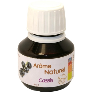 Arôme alimentaire naturel cassis