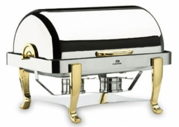 Chafing dish roll top pieds laiton