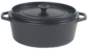 cocotte fonte invicta r serve d 39 eau ovale cocotte fonte. Black Bedroom Furniture Sets. Home Design Ideas