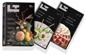 decoration de plat avec des legumes accessoire cuisine inox. Black Bedroom Furniture Sets. Home Design Ideas