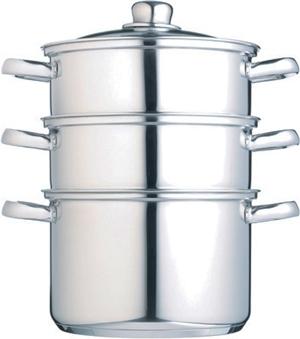 cuit vapeur inox 3 niveaux une cuisson vapeur optimale cuisin 39 store. Black Bedroom Furniture Sets. Home Design Ideas