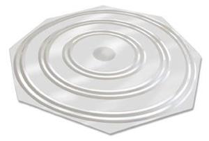disque de nettoyage pour argenterie silver clean disc. Black Bedroom Furniture Sets. Home Design Ideas