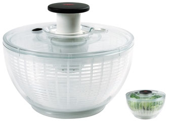essoreuse salade oxo transparente cuisin 39 store. Black Bedroom Furniture Sets. Home Design Ideas