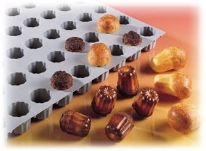 Elastomoule mini cannelés DE BUYER