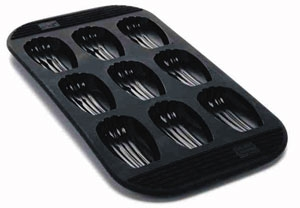 moule madeleine silicone mastrad moule souple mastrad. Black Bedroom Furniture Sets. Home Design Ideas