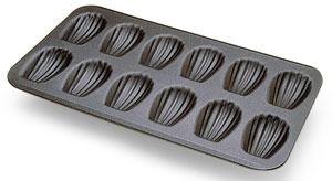 Plaque à madeleines