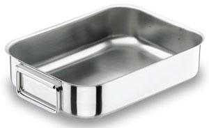 Plat inox au four les ustensiles de cuisine for Plats inox cuisine