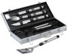 Set barbecue manche inox