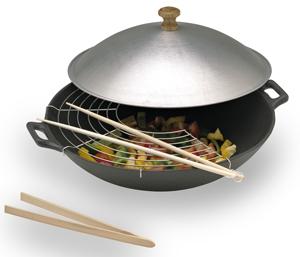 wok fonte cuisine sur enperdresonlapin. Black Bedroom Furniture Sets. Home Design Ideas