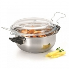 Friteuse inox induction 140