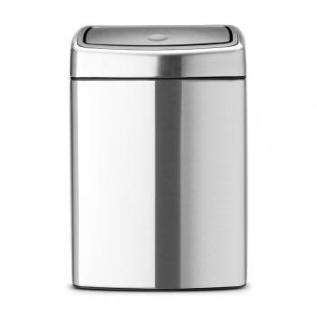 Poubelle brabantia touch bin rectangulaire poubelle de - Poubelle de cuisine rectangulaire ...