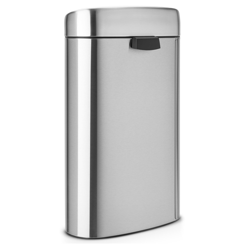 poubelle brabantia touch bin 40 l poubelle de cuisine. Black Bedroom Furniture Sets. Home Design Ideas
