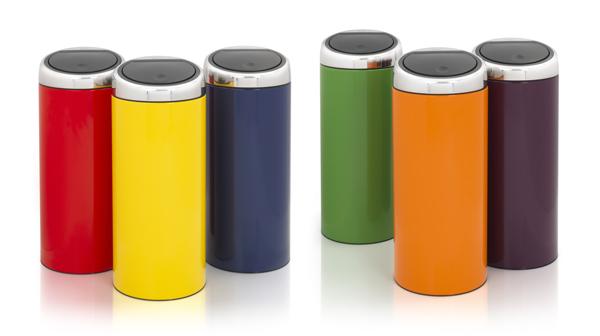 poubelle brabantia touch bin 30 l poubelle de cuisine cuisin 39 store. Black Bedroom Furniture Sets. Home Design Ideas