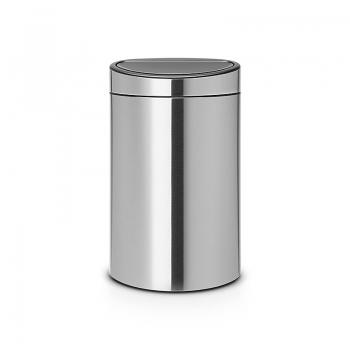 Poubelle brabantia touch bin 40 l poubelle de cuisine - Poubelle de cuisine brabantia ...