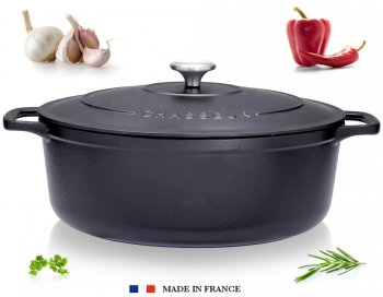 cocotte ovale chasseur cuisson cuisin 39 store. Black Bedroom Furniture Sets. Home Design Ideas