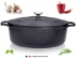 Cocotte fonte Chasseur ovale