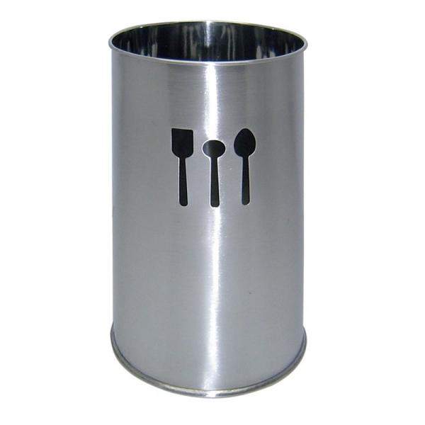 Pot ustensiles inox combrichon cuisin 39 store - Pot a ustensiles ...