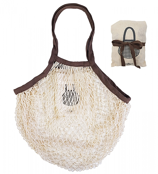 Sac Filet Repliable en Coton Naturel Cookut