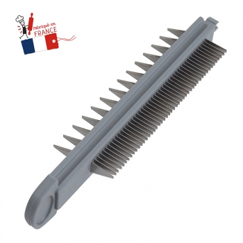 Double Peigne Julienne 2 & 7mm De Buyer