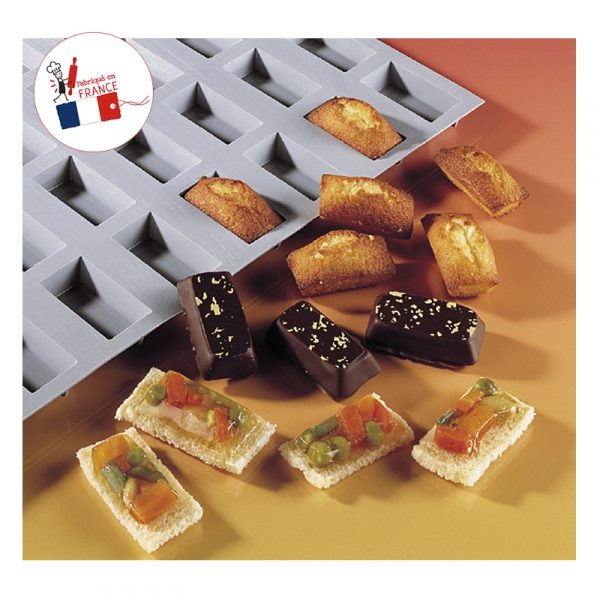 Elastomoule mini financiers DE BUYER