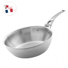Sauteuse inox French Collection Mont Bleu 140