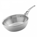 Sauteuse inox French Collection Mont Bleu
