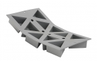 Elastomoule Portions Géo 10 Triangles De Buyer