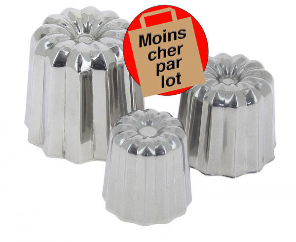 Moule à canelé inox De Buyer