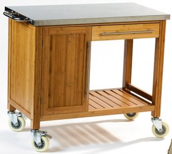 chariot pour plancha dm cr ation accessoires plancha cuisin 39 store. Black Bedroom Furniture Sets. Home Design Ideas