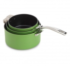 3 Casseroles plug & play Evergreen Green Aubecq