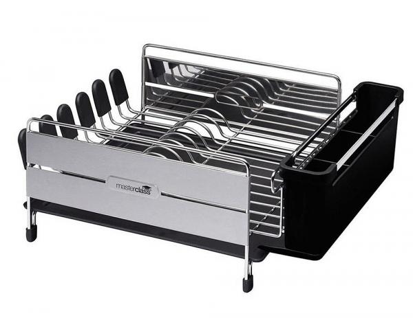 egouttoir vaisselle inox masterclass kitchencraft. Black Bedroom Furniture Sets. Home Design Ideas