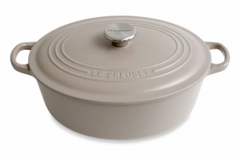 cocotte le creuset ovale sisal cocotte fonte cuisin 39 store. Black Bedroom Furniture Sets. Home Design Ideas