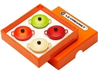 Coffret 4 magnets Le Creuset