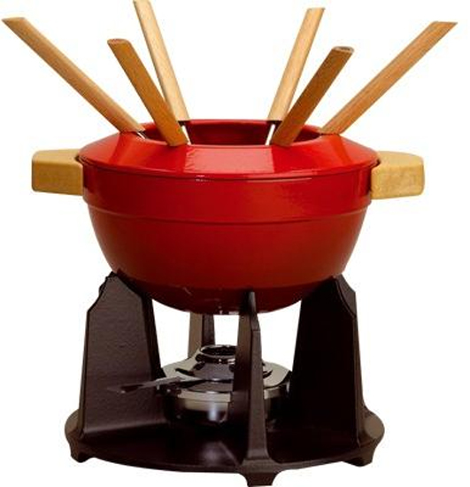 service fondue le creuset luxe toutes les fondues cuisin 39 store. Black Bedroom Furniture Sets. Home Design Ideas