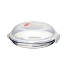 Plat Assiette ronde en Verre Lock and Lock 24 cm