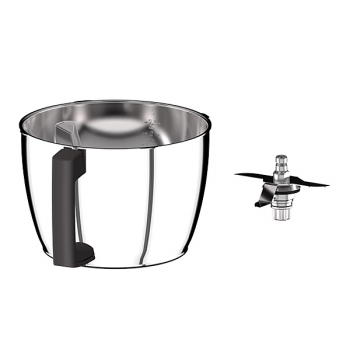 Bol Inox + couteau Cook Expert Magimix