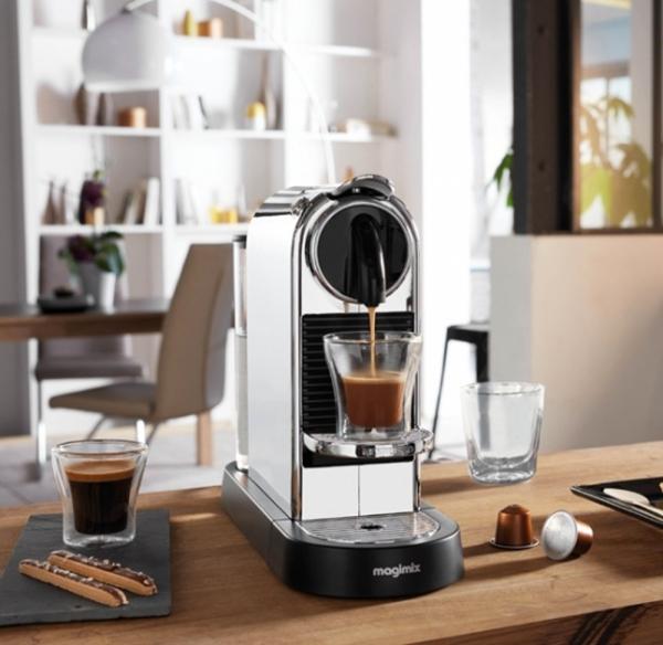cafeti re magimix nespresso citiz cuisin 39 store. Black Bedroom Furniture Sets. Home Design Ideas
