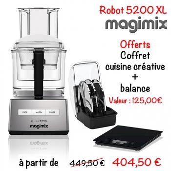 robot magimix 5200 xl cuisin 39 store. Black Bedroom Furniture Sets. Home Design Ideas