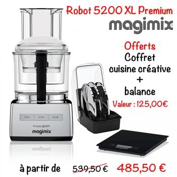 robot magimix 5200 xl premium cuisin 39 store. Black Bedroom Furniture Sets. Home Design Ideas