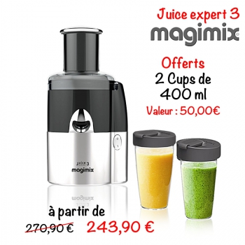 extracteur de jus juice expert 3 magimix centrifugeuse. Black Bedroom Furniture Sets. Home Design Ideas