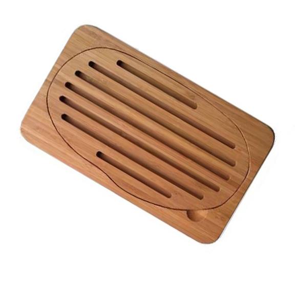 mini planche pain bambou pebbly natural. Black Bedroom Furniture Sets. Home Design Ideas