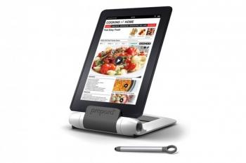 Support pour tablette sp cial cuisine pr para lutrin - Tablette pour la cuisine ...