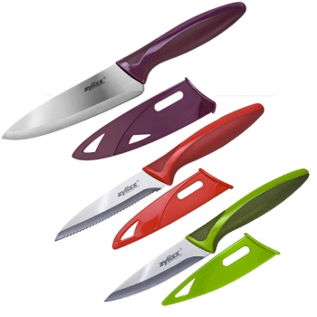 Set 3 couteaux zyliss couteau de cuisine cuisin 39 store for Set couteaux cuisine